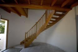 Escaliers bois menuiserie Mougin frères