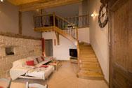Escalier bois une réalisation de la menuisereie Mougin