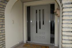 Porte d'entrée aluminium Mougin Frères