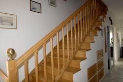 Habillage escalier béton menuiserie Mougin Frères