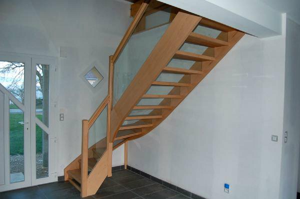 Escalier Bois Verre